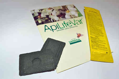 Apilife Var Organic Varroa Treatment - 1 pack of 2 strips