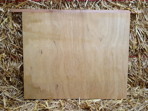 Dummy Board 14x12/Extra Deep Brood - Red Cedar