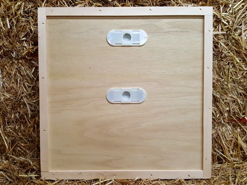 Crown Board National Cedar Hive with 2 porter bee escapes
