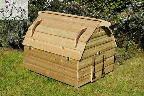Sussex Barn Chicken House Coop