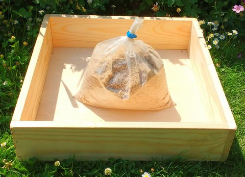 Dust Bath Tray for Chickens