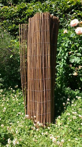 Willow Fencing Screening - 1 Meter Tall