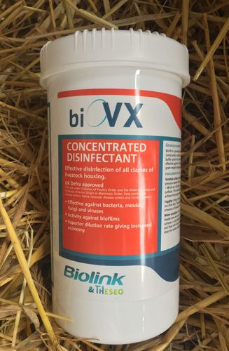 BioVX Concentrated Disinfectant 1kg