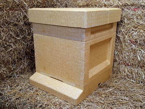 National Hive with a standard Brood - Polystyrene