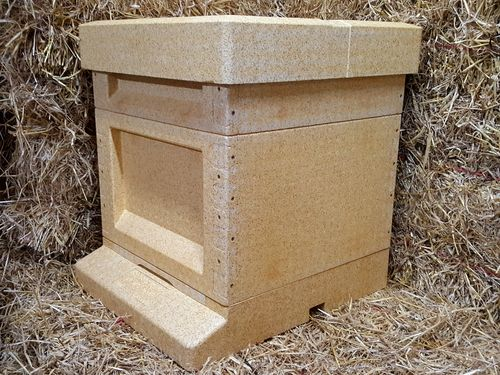 National Hive with 14x12 Brood Box - Polystyrene