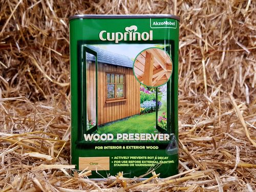 Wood Preserver Clear Cuprinol 1Ltr
