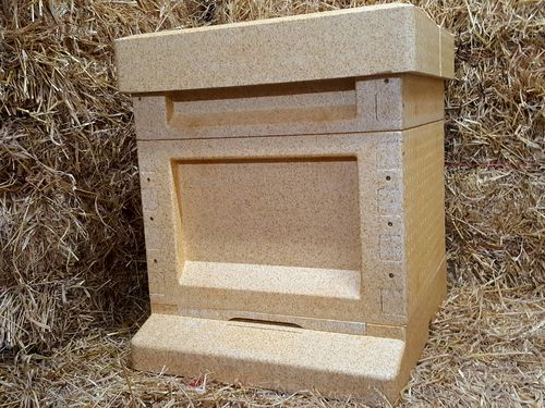 Beginners Bee Keeping Pack - National Poly Hive with a 14x12 brood - Assembled