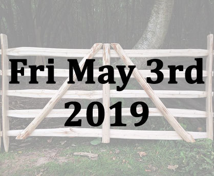 Making a Sweet Chestnut Gate Hurdle with Richard Ely - Fri 3rd May 2019