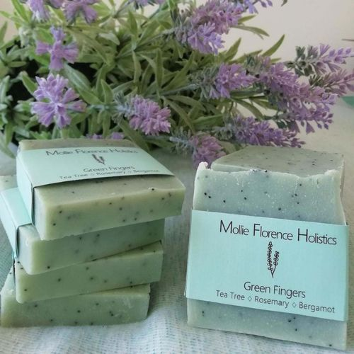 Hand Made Soap - Green Fingers